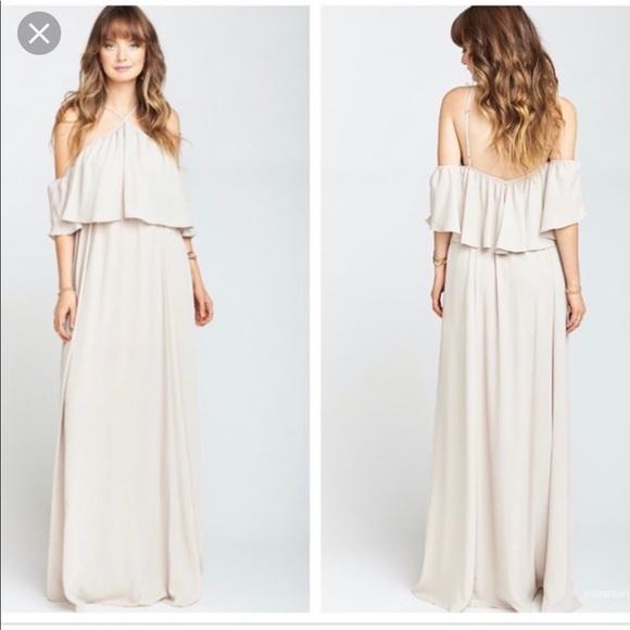 Show Me Your MuMu Dresses & Skirts - Rebecca Ruffle Maxi Dress